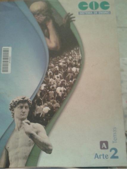 Livro Coc Sistema De Ensino Arte 2 Temas
