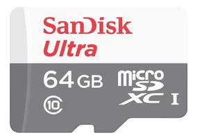 Cartao Memoria Micro Sd 80mb/s 64gb Sony Action Cam Filmador