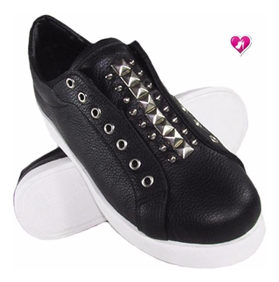 Zapatilla Cuero Tachas Unicas Model Kenzo De Shoes Bayres