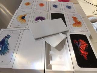 Cajas De iPhone Se 6s Y 6 Normal Y Plus Con Manuales