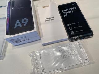 Samsung Galaxy A9 Preto, 128gb, Tela 6.3 , Câmera 24mp