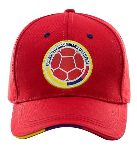 Imagen 1 de 3 de Gorras Oficiales Selección Colombia De Fútbol Roja Fcf