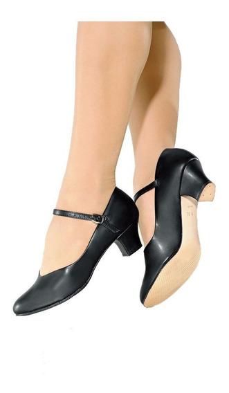 Sapato Dança De Salão Só Dança Napa Salto 5cm Ch52 Sem Juros