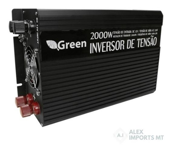 Inversor De Potência Veicular Usb 2000w 12v - 220 Volts