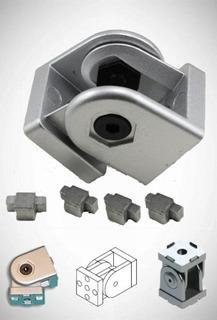 União Articulada P/ Perfil Estrutural Base 40 (tipo Bosch)
