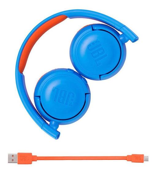 Par Fone De Ouvido Bluetooth Infantil Jbl Jr300 Bt 2 Peças