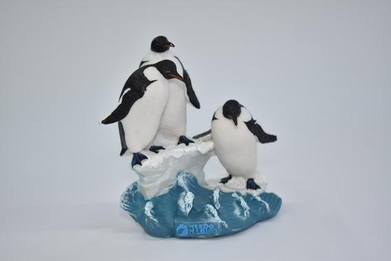 Adorno Pingüinos Mundo Marino