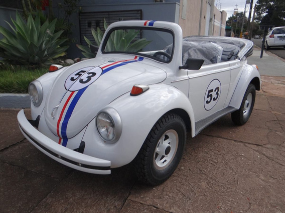 Mini Fusca Herbie / Motorizado / Buggy