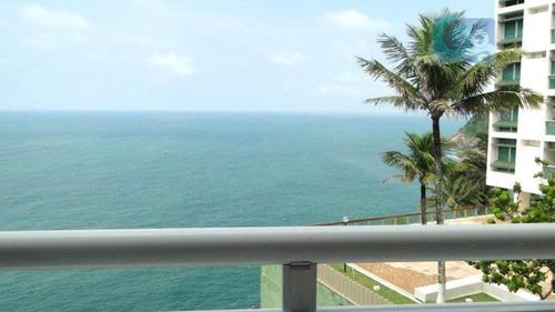 Imagem 1 de 26 de Apartamento Venda E Locação Condomínio Penhasco Das Tartarugas - Guarujá - Ap4127