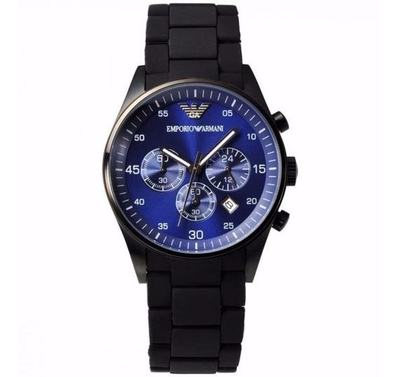Reloj Emporio Armani Blue Chronograph Ar5921 For The Bold