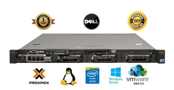 Servedell R310 Intel Xeon Quadcore X3440 Hd 1tb 8gb Ram Ddr3