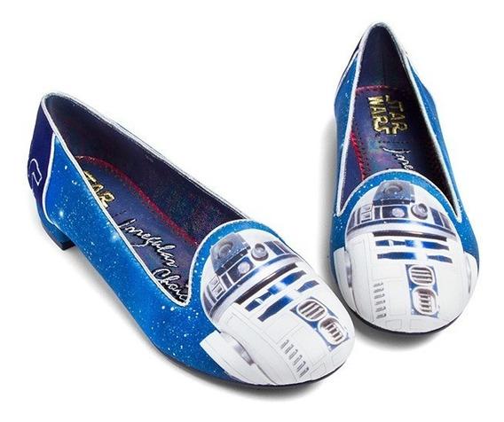 Zapatos Flats Star Wars R2d2 Jedi Original Irregular Choice