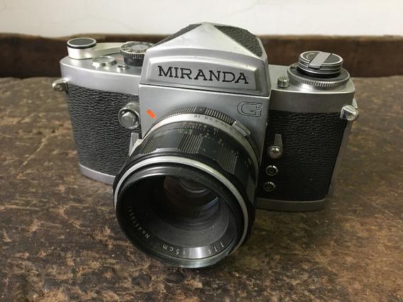 Camera Fotográfica Miranda G - Usada