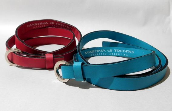 Cintos Martina Di Trento Impecables Pack X 2