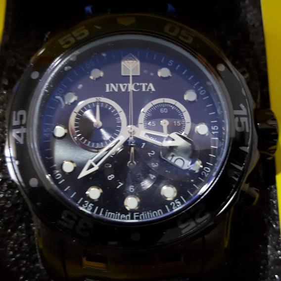 Relógio Invicta Pro Diver Scuba 0076 Masculino + Maleta