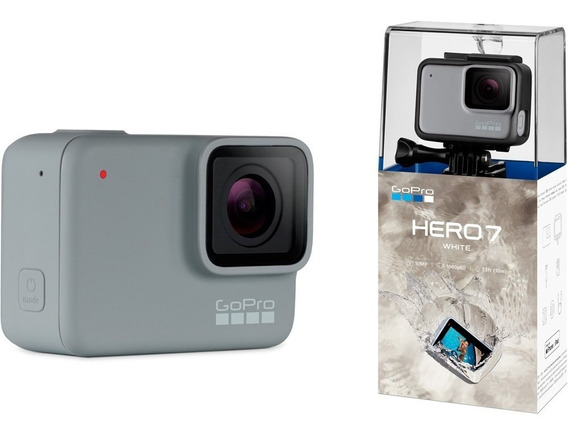 Câmera Gopro Hero 7 White 10mp Full Hd Chdhb-601-rw Wi-fi