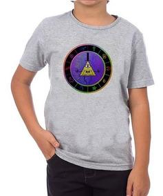 Camiseta Infantil Gravity Falls