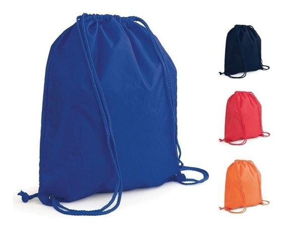 Kit Com 5 Mochilas Sacos Personalizadas