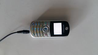 Celular Motorola C140 Tela Branca