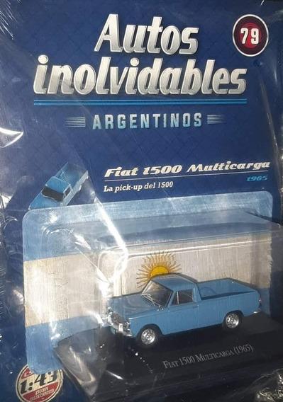 Autos Inolvidables Argentinos Nro 79 Fiat 1500 Multicarga