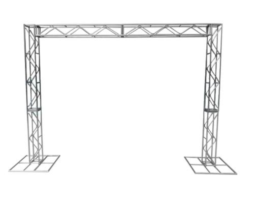 Imagem 1 de 6 de Treliças Kit Trave Box Truss Q20 Aço 2,5/3m - Frete Grátis
