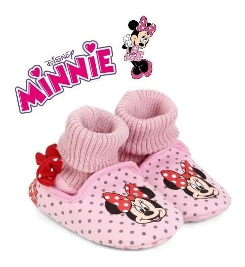 Pantufa Bebê Minnie Rosa - Ricsen