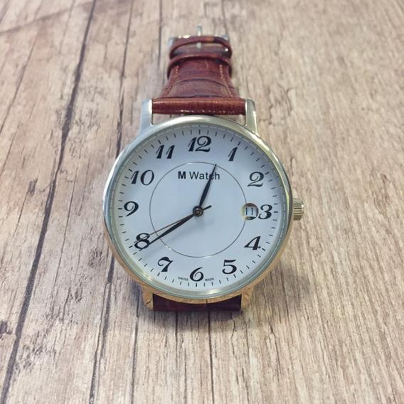 Relógio Suíço M-watch Mondaine 12870m - 7607.077