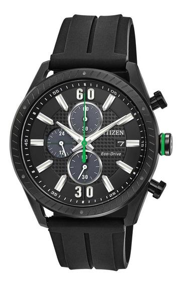 Reloj Hombre Citizen Ca0665-00e Ecodrive Deportivo Negro