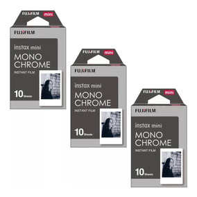 Kit Filme Instax Mini Monochrome - 30 Fotos 5,4 X 8,6