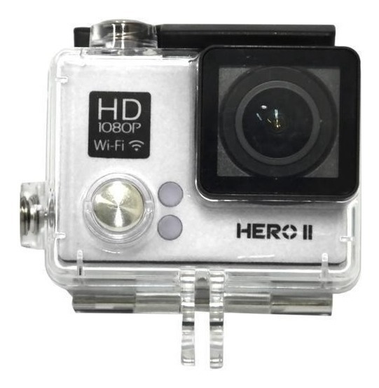 Action Cam Goal Pro Sports Cam Hero Ii Tela 2 1080p Wifi