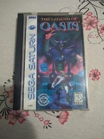 The Legend Of Oasis Original Sega Saturn