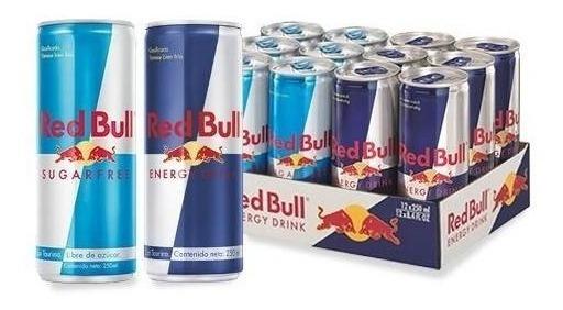 Red Bull Ed & Sf Bebida Energetica 12 Pack