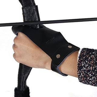 Huntingdoor Archer Longbow Táctico Guante Protector De Caza