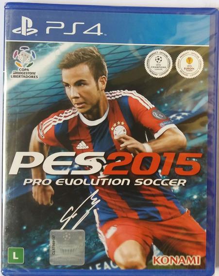Jogo Pro Evolution Soccer 2015 Ps4 / Mídia Física - Lacrado