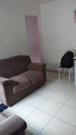 Apartamento Em Vila São Jorge, Santos/sp De 61m² 2 Quartos À Venda Por R$ 127.000,00 - Ap221152