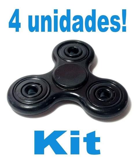 Kit 4 Espiner Brinquedo Para Girar No Dedo Fazer Manobras