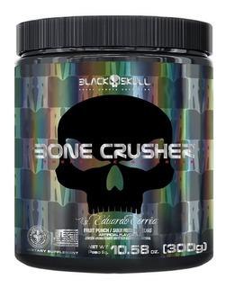 Bone Crusher 300g Pré Treino 60 Doses Black Skull