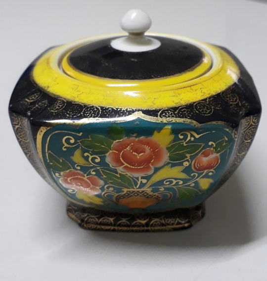 Antigo Porta Jóia Porcelana Noritake Japonês