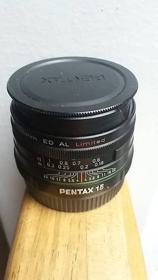 Lente Pentax-da Smc 1:4 15 Mm Ed Al Limited