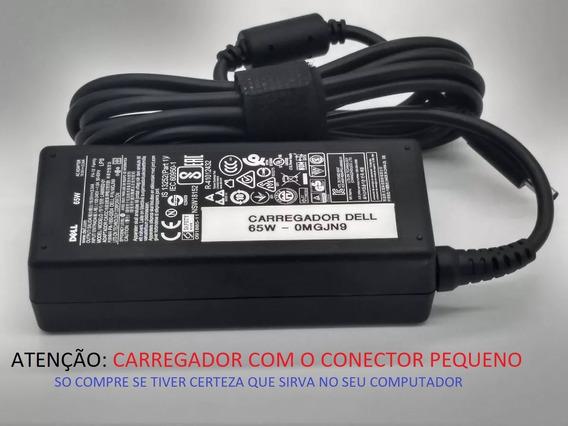 Fonte Carregador Dell - 0mgjn9 03v9j8 - La65ns2-01 - Novo