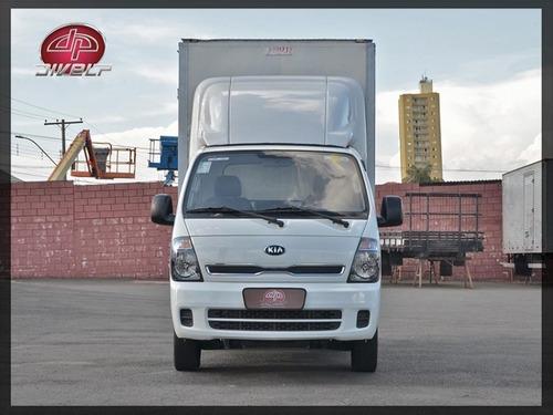 Imagem 1 de 15 de Kia Bongo K2500 Hd Caminhonete Com Baú