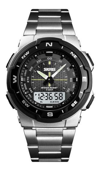 Skmei 1370 Quartzo Watch Strap 50m Waterproof Watch