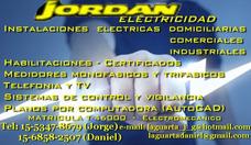Electricista Matriculado, Certificados Dci Edesur