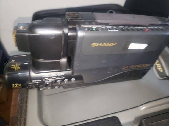 Camera Filmadora Sharp De Ombro