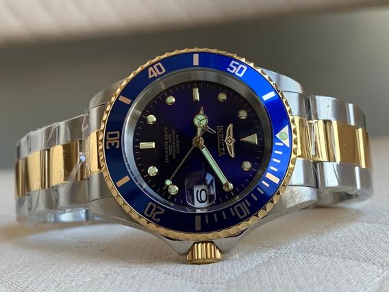 Relógio Invicta Pro Diver Automatic Blue & Gold 8928ob