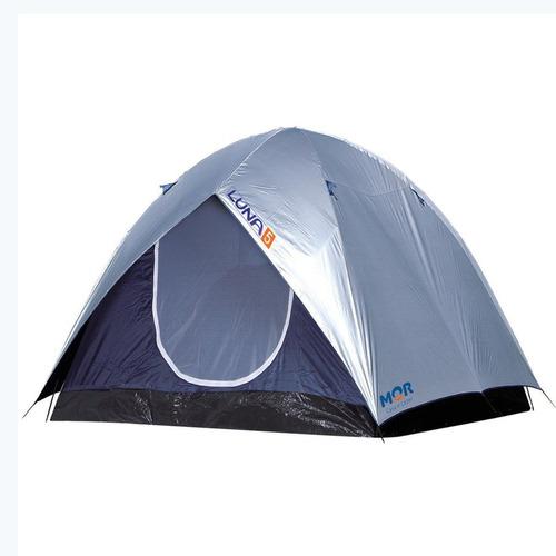 Imagem 1 de 4 de Barraca Camping Mor Iglu Luna 5 Pessoas C/ Sobreteto - 7438