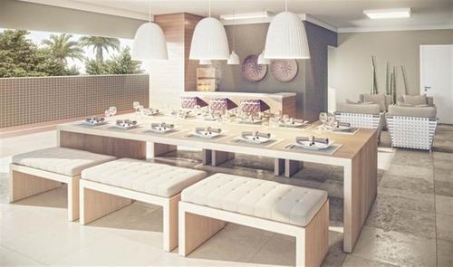 Imagem 1 de 14 de Apartamento - Venda - Forte - Praia Grande - Ctm493