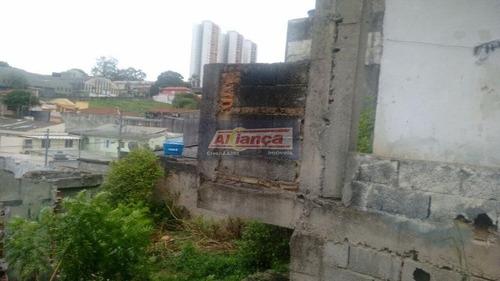 Terreno À Venda, 652 M² Por R$ 630.000 - Vila Moreira - Guarulhos/sp - Ai9098