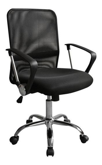 Cadeira de escritório Trevalla CDE-12-1 preta