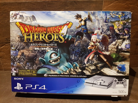 Console Ps4 Dragon Quest Edition Raro Excelente